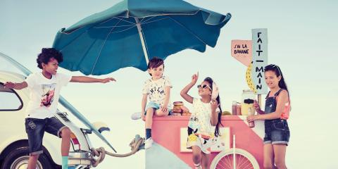 Trendy, Tropical Kids' Clothing Ideal for Summer at Le Petit Kids, Manhattan, New York