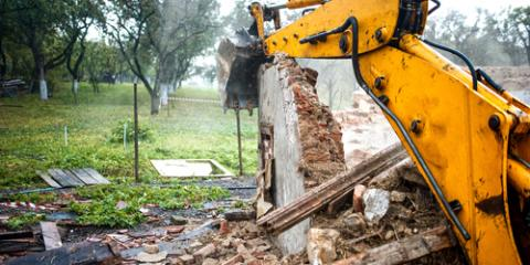 Why You Should Hire Professional Demolition Services Instead of Attempting a DIY Job , Arcadia, New York