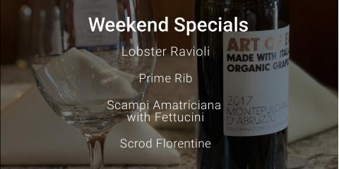 We have some tasty specials for you this weekend! #supportlocal, Oxford, Connecticut