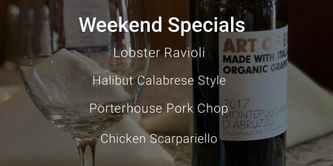 Trick or Treat! We say treat yourself to one of our weekend specials! #supportlocal, Oxford, Connecticut