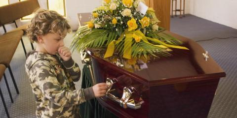 A Guide for Children Attending Funeral Services, Chili, New York