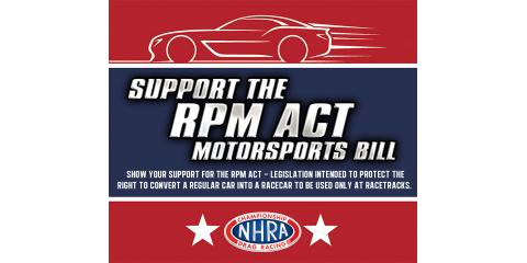 SUPPORT THE RPM LAW AND HELP SAVE MOTORSPORTS RACING!, Cuba, Missouri