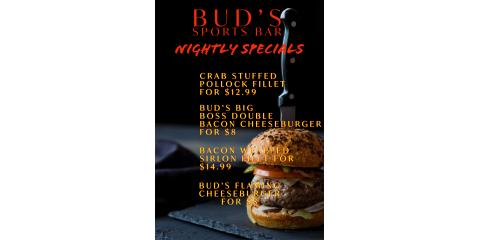 BUD'S NIGHTLY SPECIALS, Chattanooga, Tennessee