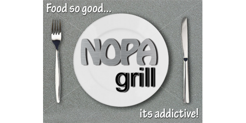 Lunch @ NOPA Grill in Winter Park, Winter Park, Florida