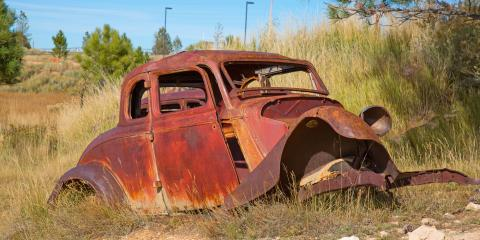 Why You Shouldn't Leave a Junk Car on Your Property, Thomasville, North Carolina