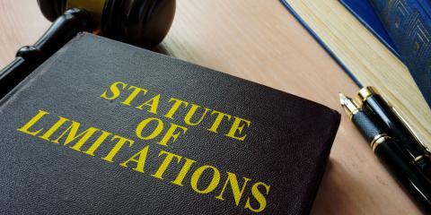 What Is a Statute of Limitations & How Does It Affect a Personal Injury Claim?, Wilmington, North Carolina
