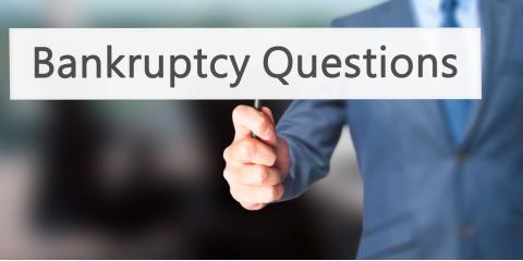 Bankruptcy FAQs: Answers From a Lawyer, Hill, Arkansas