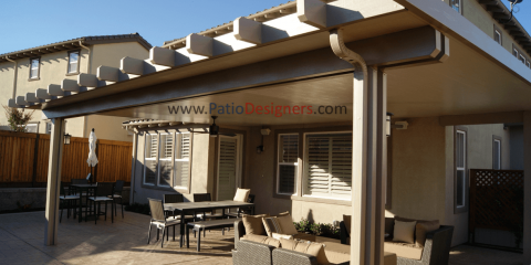Enhance Your Home With A Covered Patio From Patio Designers, East Yolo,  California