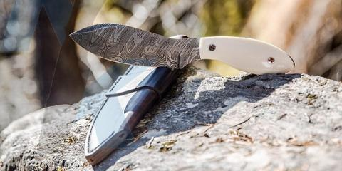 A Firm Grip: Choosing Handle Materials for Custom Knives, Anchorage, Alaska