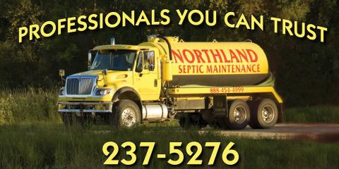 Northland Septic Maintenance, Septic Systems, Services, Backus, Minnesota