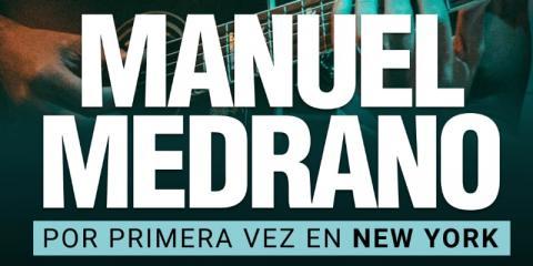 MANUEL MEDRANO desde COLOMBIA JUEVES 15 NOV..MAMAJUANA CAFE QUEENS, New York, New York