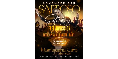 SABROSO SATURDAYS- NOV 9- MAMAJUANA CAFE PATERSON , Paterson, New Jersey