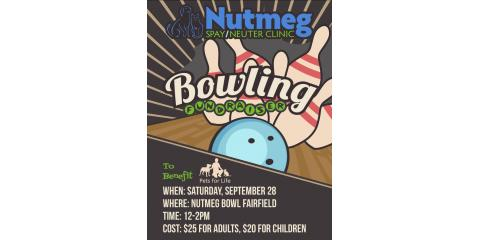 """SAVE THE DATE!  Bowl with us to support """"Pets for Life"""" program and keep pets in their forever homes!, Stratford, Connecticut"""