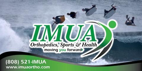 The Orthopedic Doctors at IMUA Orthopedics, Sports & Health Prescribe Plenty of Rest For Your Good Health, Honolulu, Hawaii