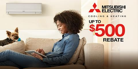 Up to $500 Off Mitsubishi Electric® Systems This Fall, Manhattan, New York