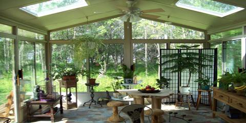 Glass-Roof Solariums: 5 Features That Enhance Your Home & Lifestyle, East Rochester, New York