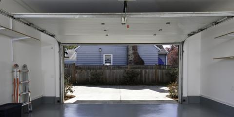 How to Stay Safe When Using Residential Garage Doors, Rochester, New York