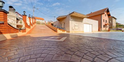 Stone Supplier Shares Common Concrete Driveway Designs