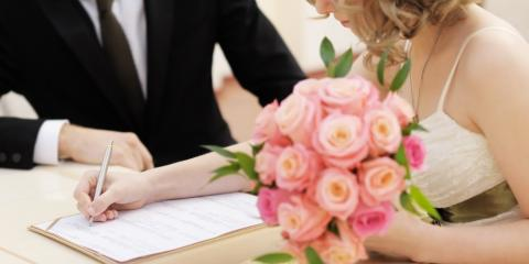 Wedding Reception Venue Explains How to Get a Marriage License, Oyster Bay, New York