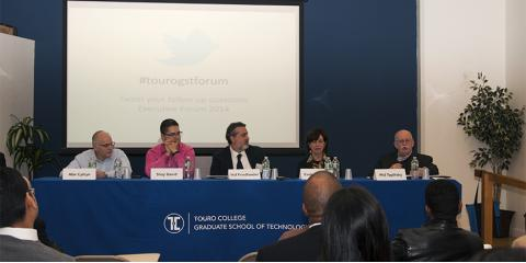 Touro College's Executive Forum 2014 Inspired Students With Professional Career Advice, Manhattan, New York