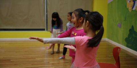 Rhythmic Gymnastics Classes at the Lower East Side's Best Childcare & Learning Center, Manhattan, New York