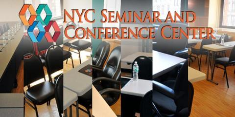 Book an Event While You Can Because It's Busy Season at NYC Seminar Center, Manhattan, New York