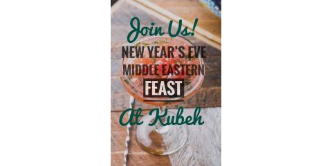 NYE Middle Eastern Feast at Kubeh!, Manhattan, New York