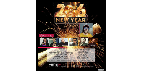 Ring in the New Year With the Best Comedy Show in New York City , Manhattan, New York