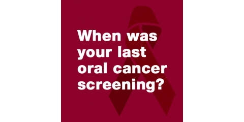 When was your last oral cancer screening?, Lewisburg, Pennsylvania