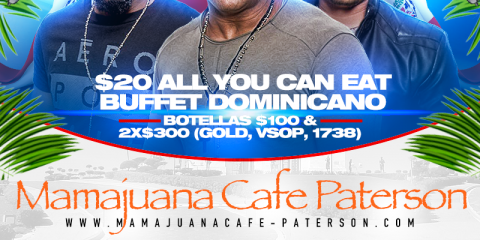 JUEVES SANTIAGUEROS- BANDA SOLIDA- MAMAJUANA CAFE PATERSON, Paterson, New Jersey