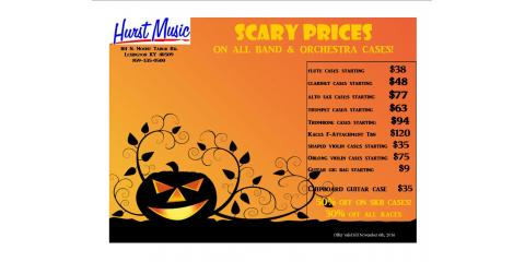 Spooktacular Instrument Case Special!, Lexington-Fayette, Kentucky
