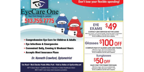 Our holiday season coupons, West Chester, Ohio