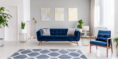3 Ways to Incorporate Classic Blue Into Your Living Space , Symmes, Ohio