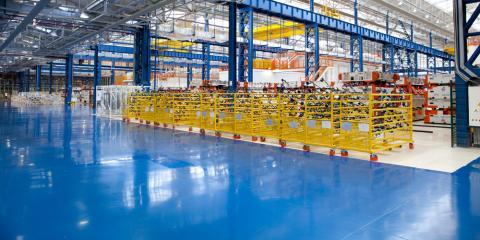 Flooring Contractor Shares 3 Ways Industrial Flooring Improves Safety,  Monroe, Ohio