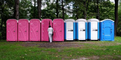 4 Types of Portable Toilets You Can Rent, Ironton, Ohio