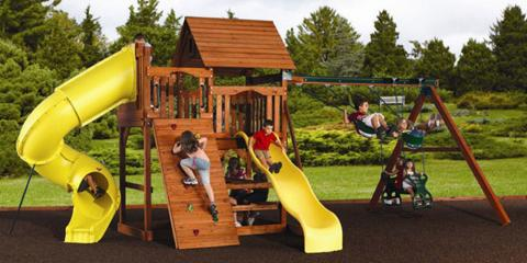 What You Need to Know About Mulch & Wood Fiber Surface for Your Play Set, Broken Arrow, Oklahoma