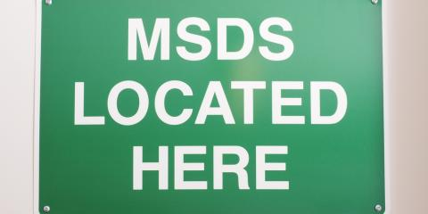 What Is a Material Safety Data Sheet (MSDS)?, Olive Branch, Mississippi