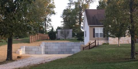 How Retaining Walls Prevent Erosion, West Plains, Missouri