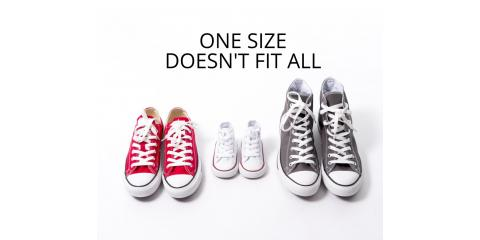 One size does not fit all, Edina, Minnesota