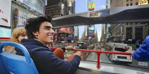 Go Sightseeing With a Brand New OPEN LOOP New York Bus Tour, Manhattan, New York