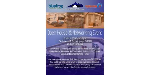 Restoration 1 of Colorado Springs Networking Event and LIVE FLOOD, Colorado Springs, Colorado