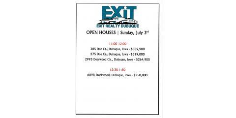 OPEN HOUSE SUNDAY, Dyersville, Iowa