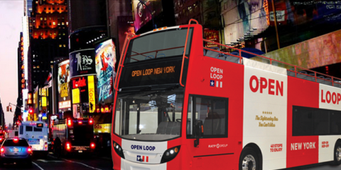 Winter Sightseeing in NYC? Hop on an OPEN LOOP New York's Bus Tour, Manhattan, New York
