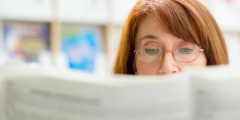 Cincinnati Optometrist Explains Presbyopia & How It's Treated, Symmes, Ohio