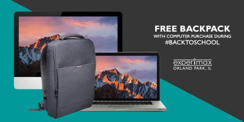 Free Backpack with Purchase of Any Computer!, Orland Park, Illinois