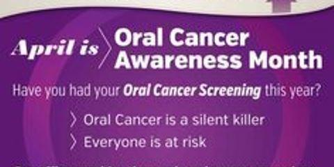 APRIL IS ORAL CANCER AWARENESS MONTH, Lexington, North Carolina
