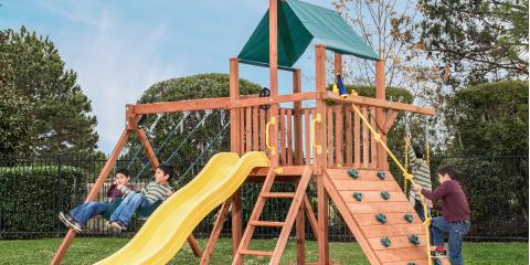 3 Ways How a New Outside Swingset Can Brighten Your Kid's Summer, Collinsville, Illinois