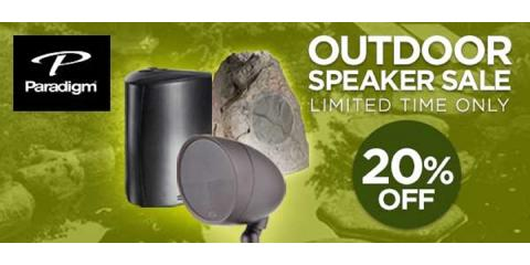 Save Big on Paradigm Outdoor Speakers!, Montgomery, Ohio