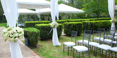 Ideas for Decorating Your Tent Rental, Webster, New York