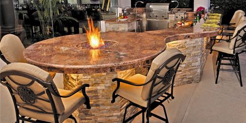 Receive a Free Fire Pit With Purchase of an Outdoor Kitchen!, St. Charles, Missouri